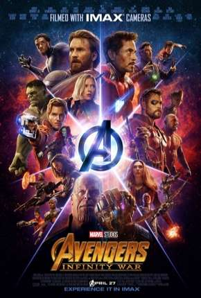 Filme Vingadores - Guerra Infinita BluRay Torrent