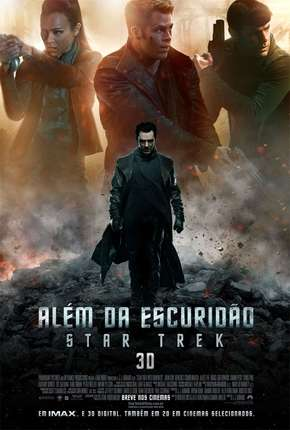 Além da Escuridão - Star Trek BluRay (2013) Dublado Torrent Download