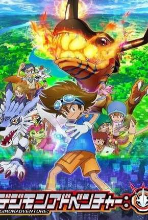 Anime Digimon Adventure - 1ª Temporada - Legendado Torrent