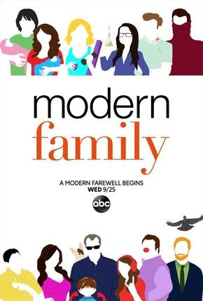 Série Modern Family - 11ª Temporada Legendada Torrent