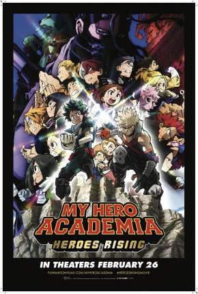 Filme My Hero Academia: Ascensão dos Heróis - Legendado Torrent