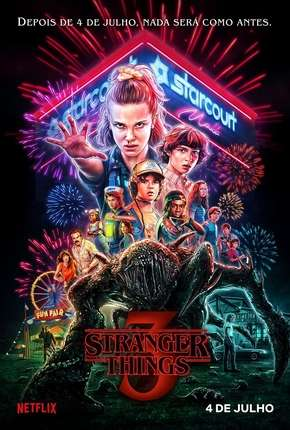 Série Stranger Things - 3ª Temporada Completa Torrent