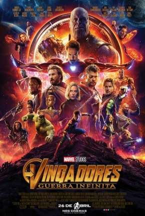 Poster Vingadores - Guerra Infinita - 60 FPS Download via Torrent