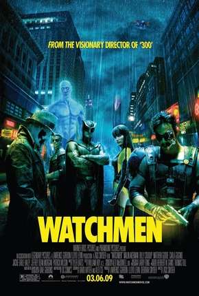 Filme Watchmen - O Filme - IMAX OPEN MATTE Torrent