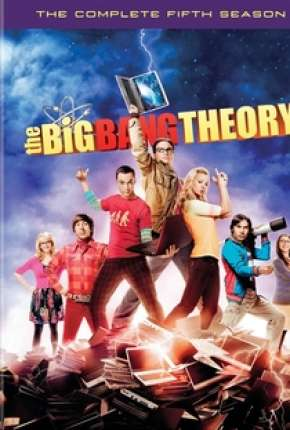Série Big Bang - A Teoria - 5ª Temporada Completa Torrent