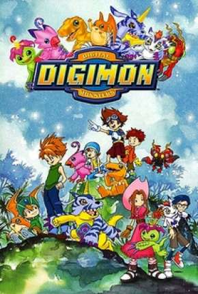Anime Digimon 1ª até 5ª Temporada Torrent
