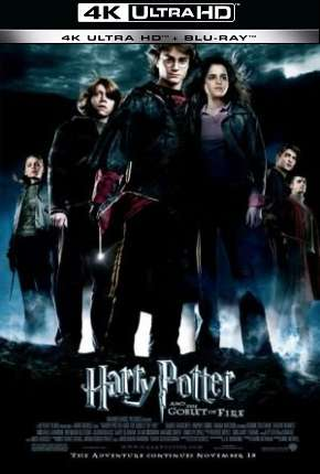 Poster Harry Potter e o Cálice de Fogo - Versão do Cinema 4K BluRay Download via Torrent