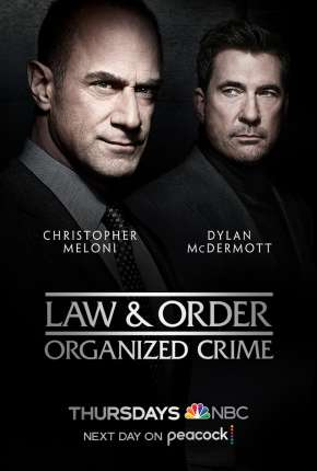 Série Law e Order - Organized Crime - 1ª Temporada Legendada Torrent