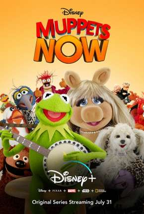 Série Muppets Now - 1ª Temporada Legendada Torrent