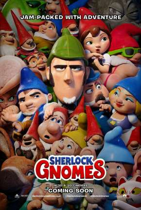 Poster Sherlock Gnomes e o Mistério do Jardim Download via Torrent