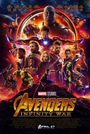 Poster Vingadores - Guerra Infinita - IMAX Download via Torrent